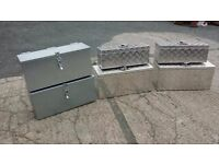 Toolboxes suitable for trailers and lorries recovery trucks transporters