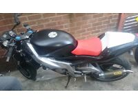 03 Aprillia rs 125 full power 11month mot /loads of serivice history& receipts for rebuild & extras