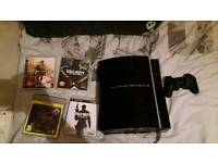 Ps3 80gb 4games