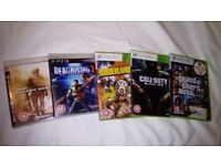 Xbox 360+ PS3 games