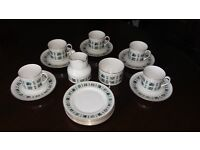 Royal Doulton 'Tapestry' part tea service for sale. Good condition.