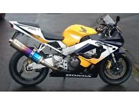 Honda CBR 900 RR Fireblade PX and Delivery Possible