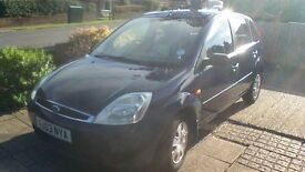 Ford Fiesta Ghia, 2003, 1.4L, 95400 Miles, Very Good Condition, £900