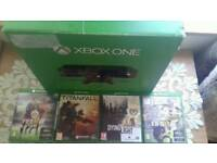 XBOX ONE 4 GAMES 1 PAD