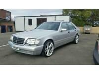 Mercedes w140 car S class 20 inch alloys-alloy wheels not Bmw Audi Lexus Chrysler Vw Jaguar