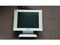 "15"" LCD Computer Monitor with integral speakers"