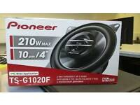 """Pioneer TS-G1032i 10cm(4"""") 210W 2way Coaxial Speakers.Brand New, unboxed"""