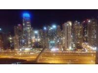 A spacious 1 bedroom flat to Rent in Dubai (Jumeirah Lake Towers- the most desirable location)