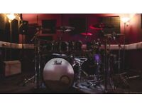 Private drum studio - One2One lessons for drumkit