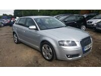 Audi A3 2.0 TDI Sport Sportback 5dr, FSH,HPI CLEAR,1 YEAR MOT, DRIVES SPOT ON, P/X WELCOME