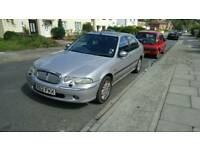 LOW MILEAGE ROVER 45 CONNOISSEUR 1.8 LITRE