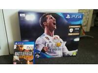 Ps4 slim 1tb boxed with game