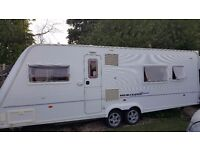 Fleetwood Touring Caravan 2006 23ft long Twin wheel