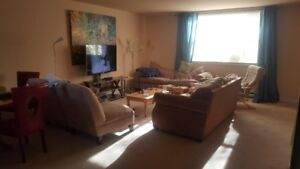 3 rooms for rent in 3 story town house with garage Halifax