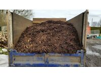 Woodchip mulch (bark chippings)