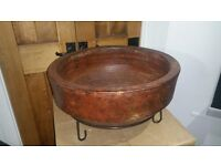 MEXICAN STONE GARDEN FIREPIT BBQ NEW IN BOX