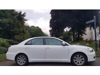 TOYOTA AVENSIS AUTOMATIC, 1.8, 2009, 78K MILES, HPI CLEAR, 1 YEAR MOT, DELIVERY AVAILABLE, MINT