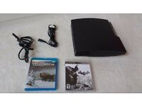 Bundled PS3 Slim 160GB+ 2x Controllers (Batman Arkham City + Yellowstone BluRay)