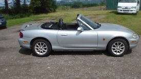 Mazda MX5 1.6 genuine low mileage car, hard top included
