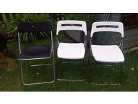 3xIKEA folding chairs
