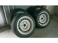 Banded steel wheels 16 5x112