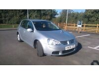 VW GOLF mk5 1.9TDI, GREAT Condition,cheap on run 56MPG. £3200