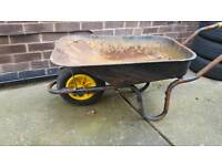 Wheelbarrow challenge wheel barrow