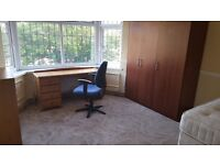 Big and nice double room in shared house. Wireless internet. 1 week deposit. All bills included.