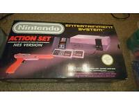 Nes Nintendo Entertainment System Action Set