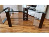 """50"""" TV TABLE CURVED"""