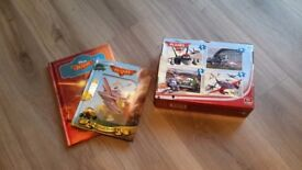 PLANES books, memory game and jigsaw bundle