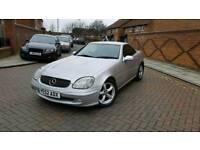 For sale Mercedes SLK Kompressor 230 petrol 6-speed manual MOT 10 months for V5 nice summer car