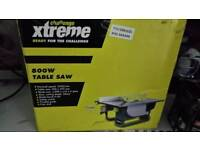 Xtreme new 800w table saw ( pick up only )