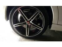 """Axe 18"""" alloy wheels"""