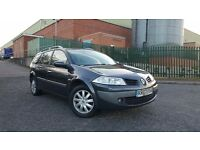 2007 Renault Megane 1.6 Dynamique Face Lift Estate Long MOT Cheap Family Focus Mondeo Astra Vectra