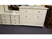 Chest Of Drawers Painted White