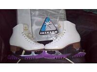 Jackson Ultima Mystique Figure Skates Size 5.5 (UK) 38.5 (EU) 24.5cm