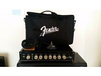 Fender Rumble 500 Bass Amp Head - w/ padded bag and foot switch