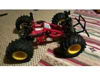 Tamiya Blackfoot rolling chassis