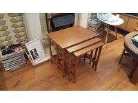 Vintage Retro Style Danish Style Teak Nest of Tables G Plan Style Side Tables Gplan
