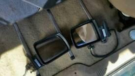 Mk1 jeep cherokee electric door mirrors