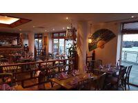 Waiter / Waitress wanted for busy riverside Thai restaurant in Island Gardens