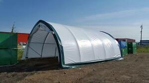 LOWEST PRICE PORTABLE FABRIC STORAGE BUILDING TENT LOWEST PRICE NORTH AMERICA 20x30x12 WITH SHIPPING !