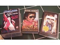 michael jackson vhf tapes