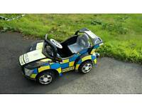 Police Car battery operated ride on