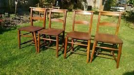 Church / chapel chairs