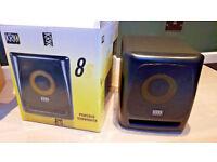 KRK 8s2 MK2 ACTIVE STUDIO SUB WOOFER 8inch SPEAKER SUBWOOFER KRK 8s