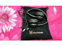 Blackweb headphone
