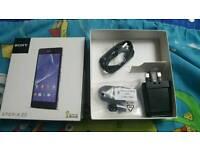 Sony xperia z2 empty box with accessories
