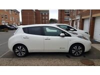Nissan Leaf 80kW Tekna 24kWh 5dr, 64 Plate, 1 previous owner 29800 miles, Battery Owned for sale  Murton, County Durham